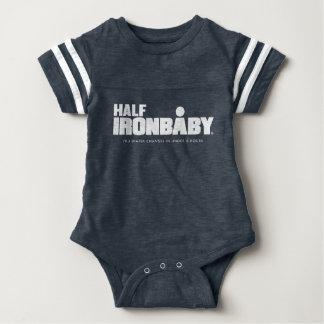 Halber Eisen-Baby-Sport-Bodysuit Baby Strampler