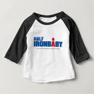 Halber Hülsen-T - Shirt des Eisen-Baby-3/4