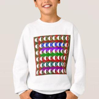 HALBMOND schönes Muster Sweatshirt