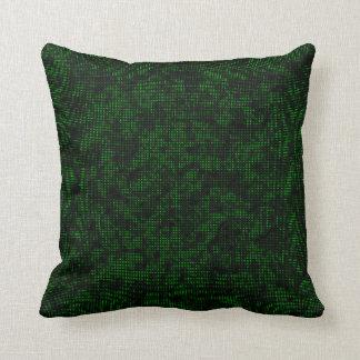 Halbtonbild Forest Green Kissen