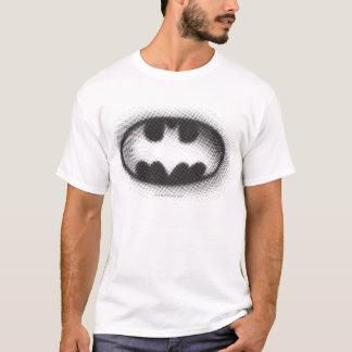 Halbtonlogo Batman-Symbol-| T-Shirt
