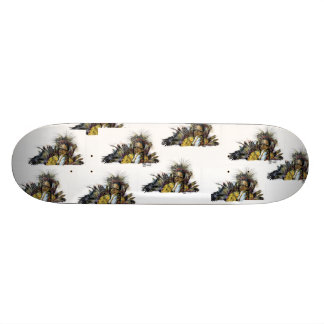 Hallandale Skateboard-Plattform Skateboard