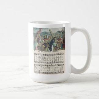 Halleluja! Eine was für Retter-klassische weiße Kaffeetasse