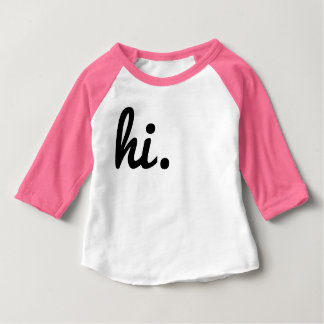 Hallo Baby T-shirt