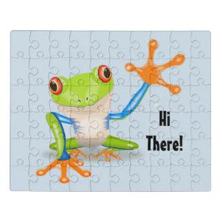 Hallo dort Frosch Puzzle