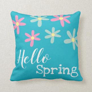 Hallo Frühlings-Häschen-Kissen Kissen