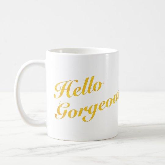 Hallo herrliche Tasse