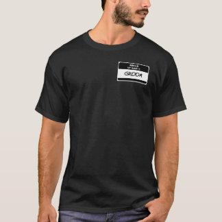 Hallo ist mein Name BRÄUTIGAM T-Shirt