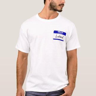 Hallo ist mein Name Leland (blau) T-Shirt
