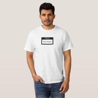 Hallo ist mein Name T-Shirt