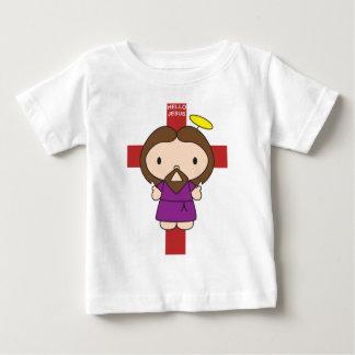 Hallo Jesus Baby T-shirt