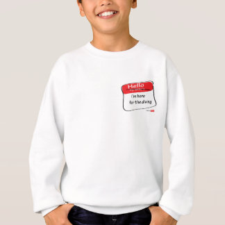 Hallo-mein-Name-ist Sweatshirt