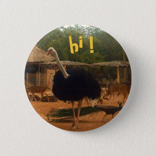 hallo! runder button 5,7 cm