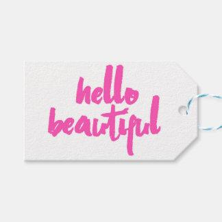 Hallo schöne Umbauten | Rosa-| Geschenkanhänger