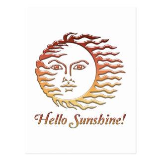HALLO SONNENSCHEIN Spaßsun-Sommer Postkarte