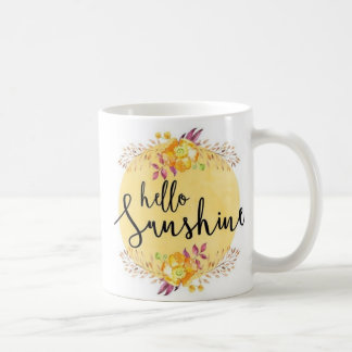 Hallo Sonnenschein-Tasse Kaffeetasse