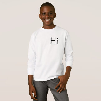 Hallo T - Shirt-Pullover T-Shirt