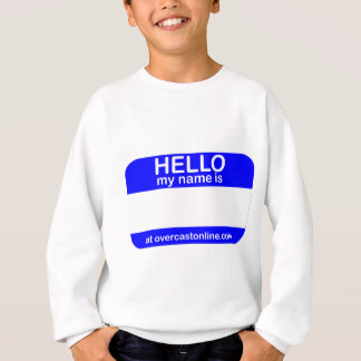 Hallo Umbau Sweatshirt
