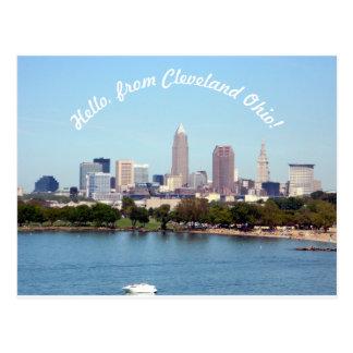 Hallo von Postkarte Clevelands OH-