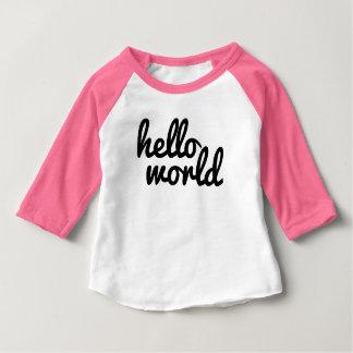 Hallo Welt Baby T-shirt