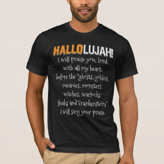 Hallolujah! (Haleluhah) Halloween T-Shirt