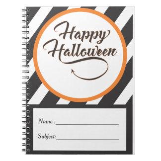 Halloween-Anmerkungs-Buch Spiral Notizblock