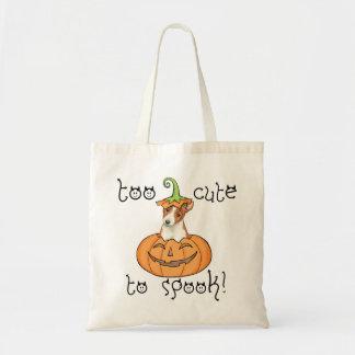 Halloween Basenji Tragetasche