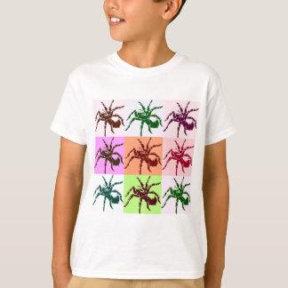 Halloween beängstigende Tarantula-Fliesen T-Shirt