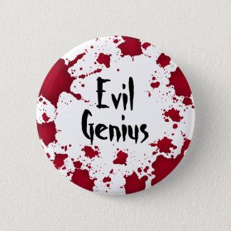 Halloween-böser Geist Runder Button 5,7 Cm