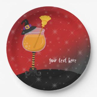 Halloween-Cocktail Pappteller