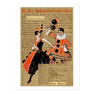 Halloween-Festlichkeiten Postkarte
