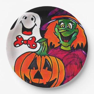 Halloween-FreundpapierTeller Pappteller