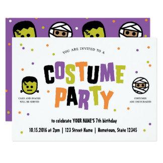 Halloween-Geburtstags-Party Einladung