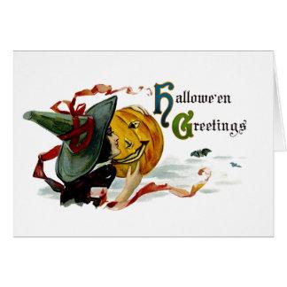 Halloween-Grüße Karte