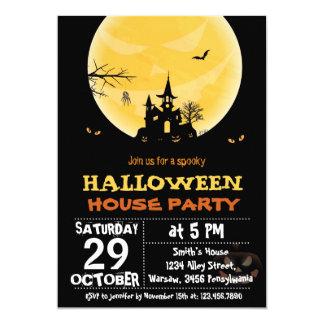 Halloween-Haus-Party Einladung