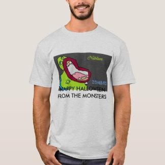 HALLOWEEN HEUREUX DES MONSTRES ! T-SHIRT