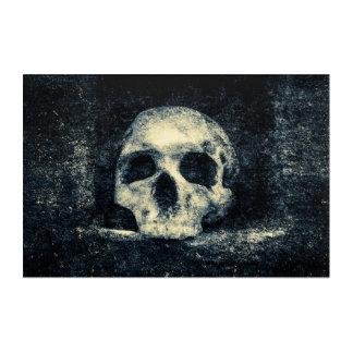 Halloween-Horror-Schädel Acryldruck