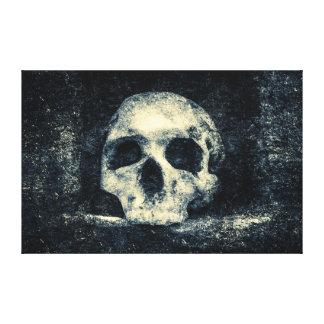 Halloween-Horror-Schädel Leinwanddruck