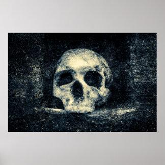Halloween-Horror-Schädel Poster