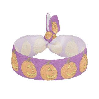 Halloween-Jack o Laternen-lila Haargummi