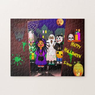 Halloween-Kinderticken oder -behandlung