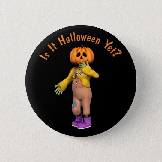 Halloween-Knopf Runder Button 5,1 Cm