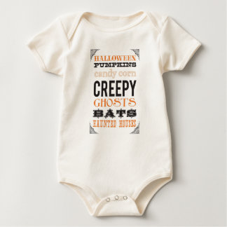 Halloween-Kostüm-Säuglings-T-Stück Baby Strampler