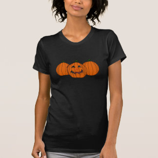 Halloween-Kürbis-Shirt - besonders angefertigt T-Shirt