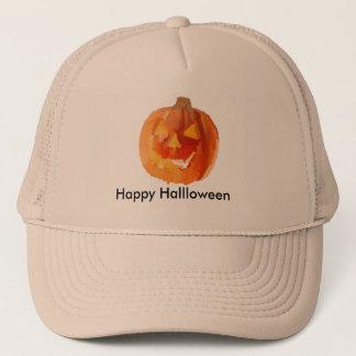 Halloween-Kürbis Truckerkappe