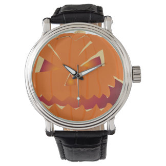Halloween-Kürbis Uhren