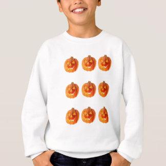 Halloween-Kürbise Sweatshirt