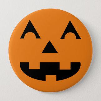 Halloween-Kürbislaterne-Kürbis-Gesicht Runder Button 10,2 Cm