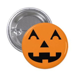 Halloween-Kürbislaterne-Kürbis-Gesicht Runder Button 2,5 Cm