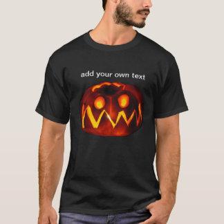 Halloween-Kürbislaterne-Trick-oder T-Shirt